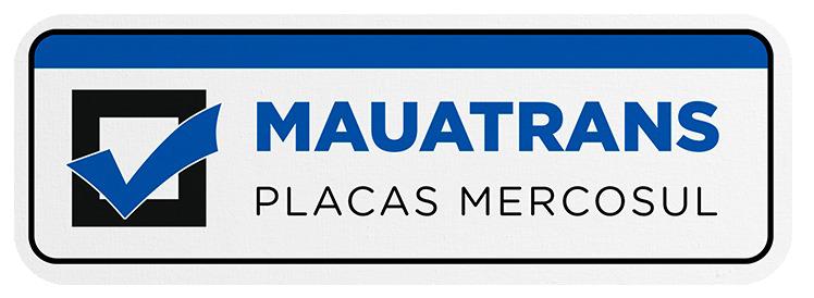 Placas Mercosul Mauatrans